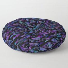 Deep Vibrant Jewel Tones Floor Pillow