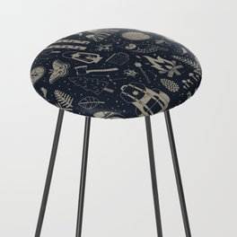 Into the Woods: Stargazing Counter Stool