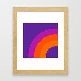 Grape Bow Framed Art Print