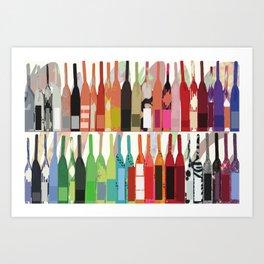 Lisa Wine Art Print