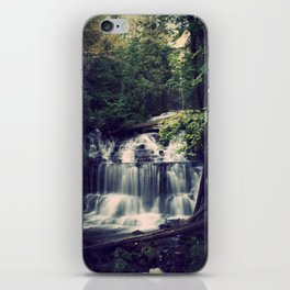 The Wagner Falls iPhone Skin