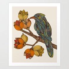 Bravebird Art Print