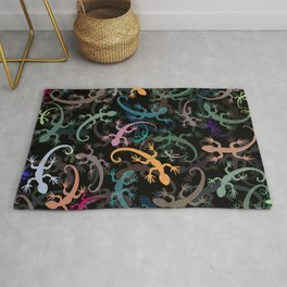 Leaping Lizards Rug