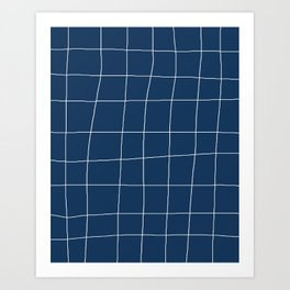 Not So Perfect Grid Art Print