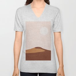 A Lonely Dune Unisex V-Neck