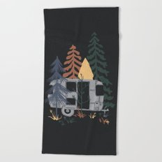 Wild Airstream... Beach Towel