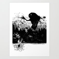 Perfect Timing Art Print