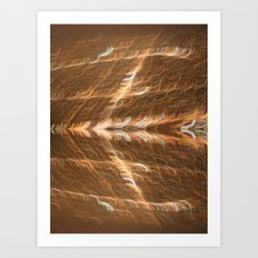 Electricity Takes Flight Art Print
