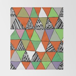 Triangle 2 Throw Blanket