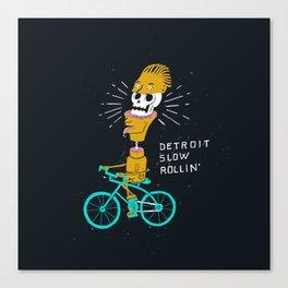Detroit Slow Rollin' Canvas Print