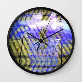 Ionic tightrope pack badges. Wall Clock