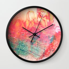 70s vibe killin it! Wall Clock