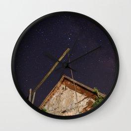 little piece of heaven Wall Clock