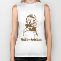 starlord Biker Tanks featuring We are in love with Kevin Bacon by 2513