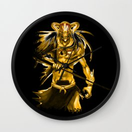 Gold Hollow Ichigo Kurosaki 00001 Wall Clock