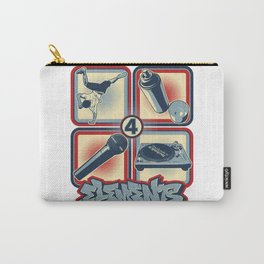 Four Elements of Hip Hop Carry-All Pouch