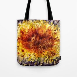Fire Flower - Vulpecula Tote Bag