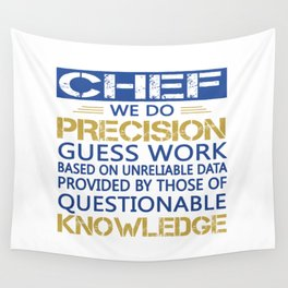 Chef Wall Tapestry