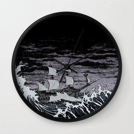 Galleon Wall Clock