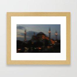 Hagia Sophia Mosque Framed Art Print