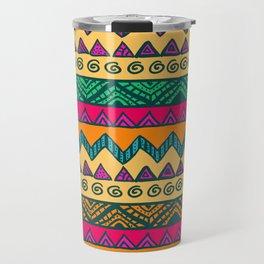 Summer Africa Tribal Pattern Travel Mug