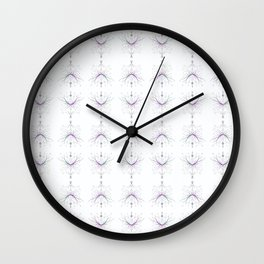 Crown of the Forest Pattern Wall Clock