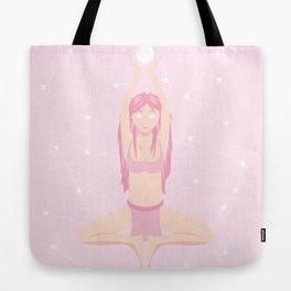 Pink Oracle Tote Bag