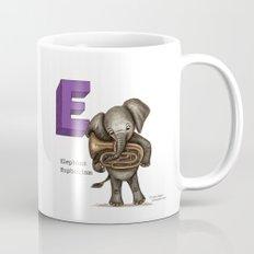 Animals & Instruments ABCs – E Coffee Mug