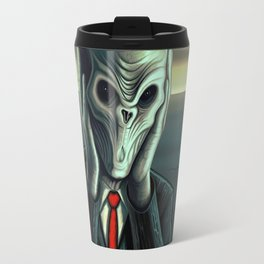 Silent Scream - The Silence Travel Mug
