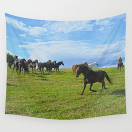 The Round Up Wall Tapestry