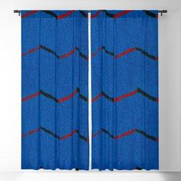 Vintage woodblock print of Japanese textile from Shima-Shima (1904) by Furuya Korin Blackout Curtain