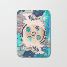 The Wheel of Fortune Bath Mat