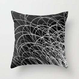 Linear Waves2 Throw Pillow