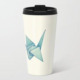 High Hopes | Origami Crane Travel Mug