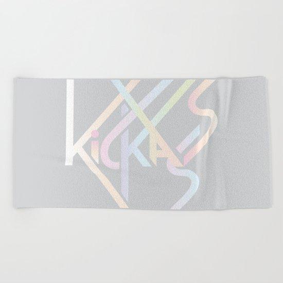 Kickass Beach Towel
