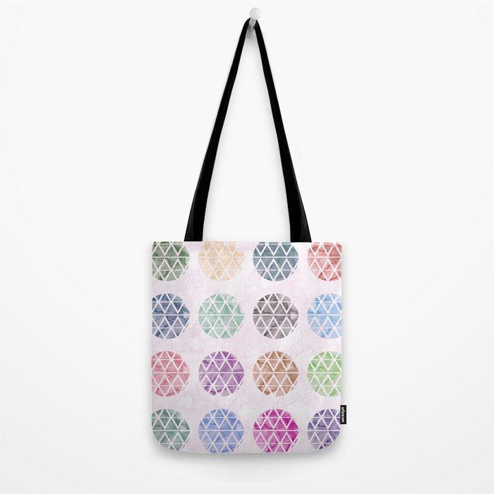 Colorful Geometric II Tote Bag