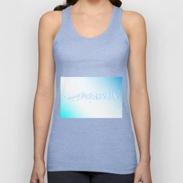 Air Bubbles On Water Unisex Tank Top