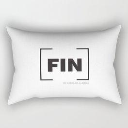 [FIN] White Rectangular Pillow