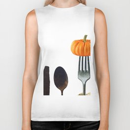 Eat Healthy with Pumpkin Biker Tank