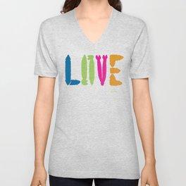 Gay Love Unisex V-Neck
