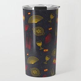 Spanish pattern Travel Mug