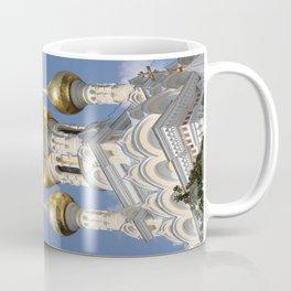 Onion Domes Alexander Nevsky Cathedral Coffee Mug