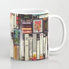 Cassettes, VHS & Atari Mug