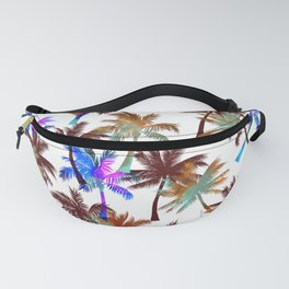Beach palm trees Fanny Pack