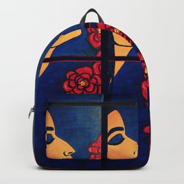 Dulce Dianthus - Triptych Backpack