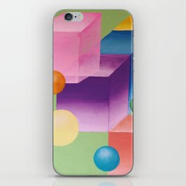 The Universes We Create iPhone Skin