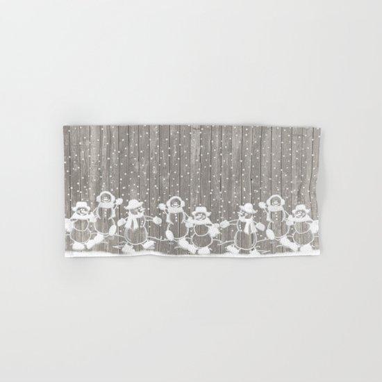 christmas card Hand & Bath Towel