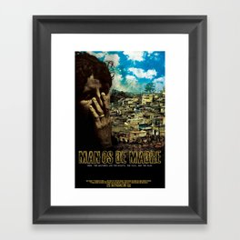 Manos De Madre Official Movie Poster Framed Art Print