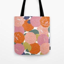 Flowers In Full Bloom Tote Bag