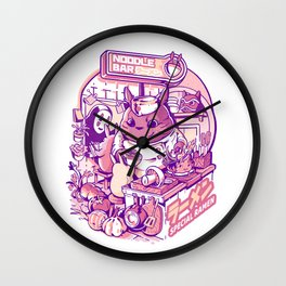 My neighbor noodle bar Wall Clock
